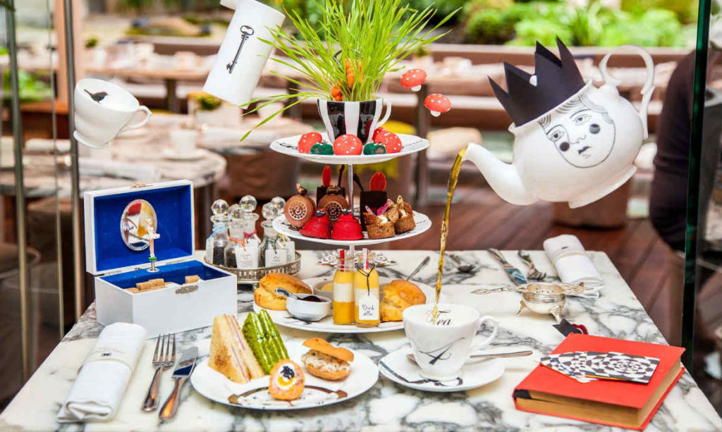 Afternoon-tea à Londres