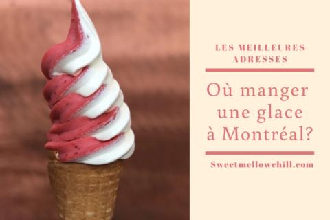 crème glacée Montréal