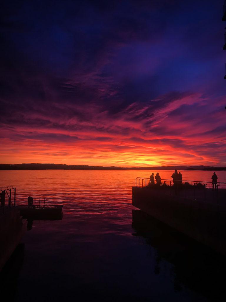 coucher de soleil oslo sunset oslo
